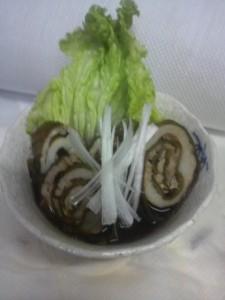 松前産芽昆布の豚肉巻